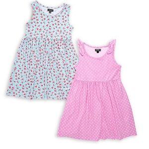 NWT Dress Bundle, Watermelon & Polka Dot print
